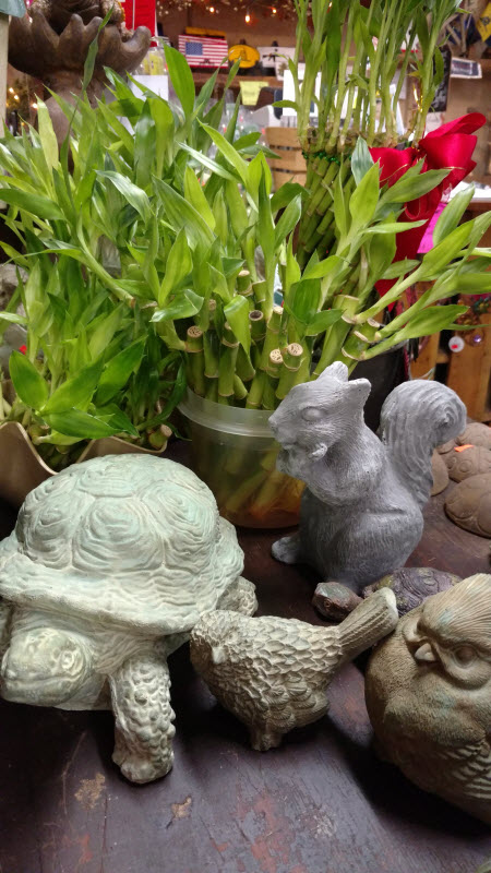 Concrete Figurine | The Lucky Bamboo Store